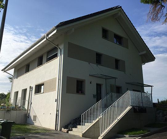 Neubau DEFH Zimmermann, Liebefeld