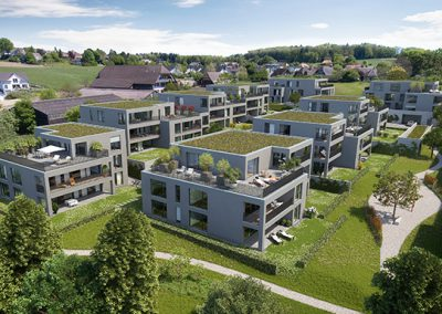 Wohnüberbauung Rossi, Lyss