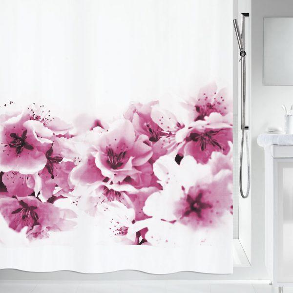 Duschvorhang Spirella Amanda Textil