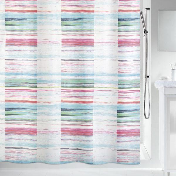 Duschvorhang Spirella Flicker Textil