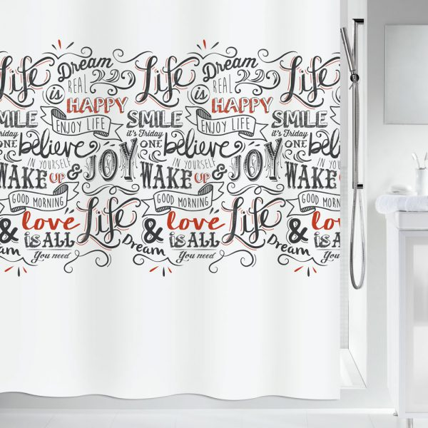 Duschvorhang Spirella Lovejoy Textil