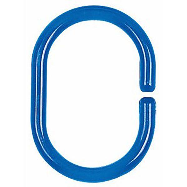 Duschvorhang-Ring Spirella Minor clear-blue
