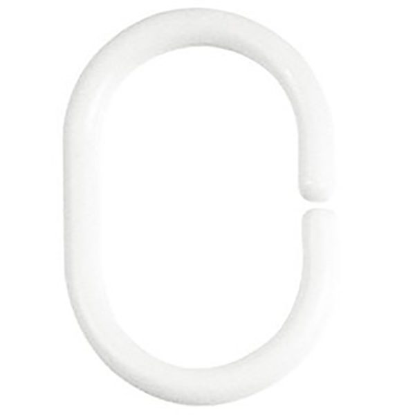 Duschvorhang-Ring Spirella Minor weiss