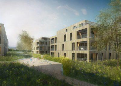 Wohnüberbauung Bodenmattpark, Schmitten